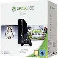 Microsoft Xbox 360 E 500GB + Fable Anniversary + Plants vs Zombies: Garden Warfare (3M4-00012)