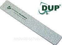 Пилки минеральные DUP (100х180грит) для маникюра, фото 1