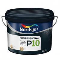 Матовая краска для стен и потолка Sadolin Nordsjo Professional P10  2,5л