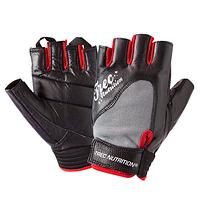 Женские кожаные перчатки для тренировок и фитнеса Fitness Black (разм: XS, S, M, L)