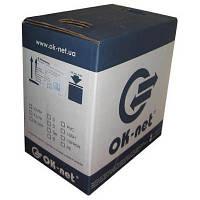 Кабель сетевой OK-Net FTP 305м (КПВЭ-ВП (100) 24AWG), фото 1