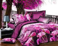 Двуспальный набор постельного белья 180*220 из Полиэстера №168 Черешенка™