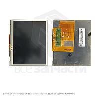 """Дисплей для автонавигатора GPS 3,5', с сенсорным экраном, 3.5"""", 50 pin, (320*240), #LMS350GF12"""