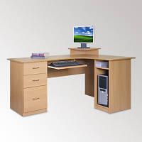 Угловой компьютерный стол СУ-3 большой и вместительный, фото 1