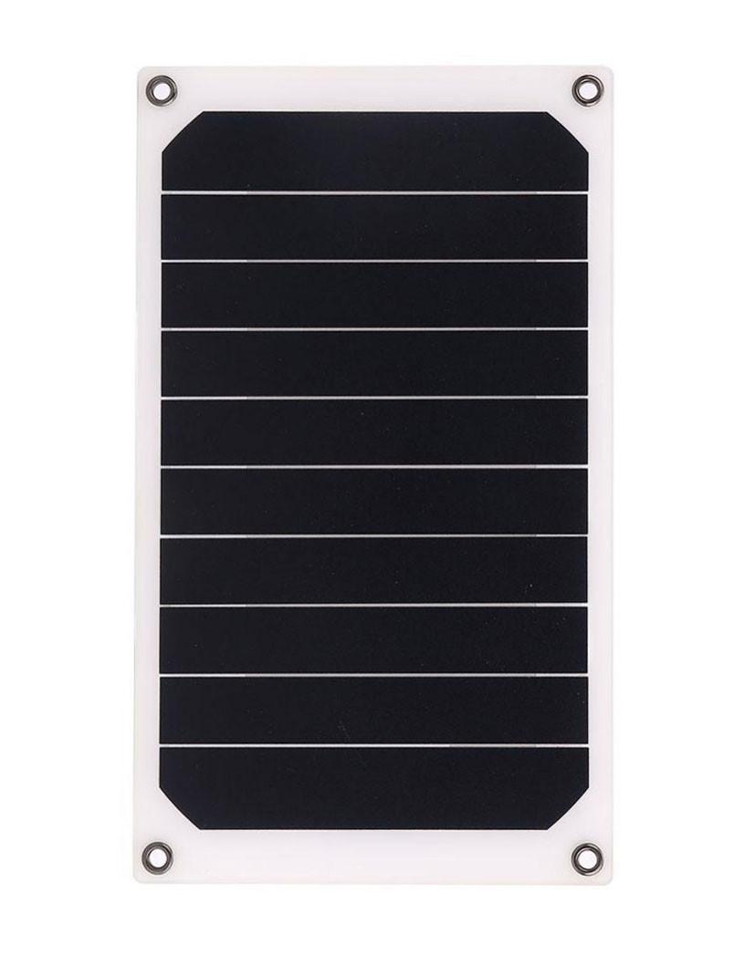 Солнечная мини – панель 6 Вт 5 В полугибкая, зарядное устройство, фото 1