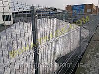 Оцинкованные заборные сетки 3 D (3 Д), фото 1