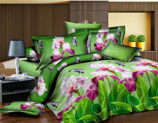 Двуспальный набор постельного белья 180*220 из Полиэстера №167 Черешенка™, фото 2