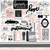 Наклейки - Echo Park - Wedding Bliss