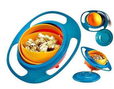 Детская чашка-непроливайка Gyro Bowl