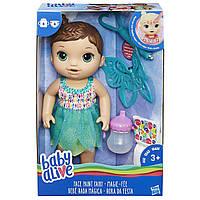 Кукла пупс Малышка Фея брюнетка  Hasbro Baby Alive Face Paint Fairy Brunette B9724