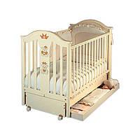 Кроватка Capriccio Antique ivory (маятниковая система из пластика) 22214 ТМ: Pali