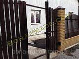 Металлические ограждения штакетного типа, фото 4