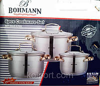 Набор кастрюль Bohmann (Бохманн) 7-ми слойное дно