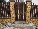 Штакетний паркан з металу, фото 3