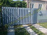 Штакетний паркан з металу, фото 5