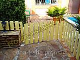 Штакетний паркан з металу, фото 7