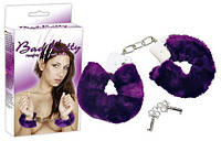 Наручники Bad Kitty Handcuffs purple