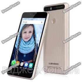 Телефон Leagoo KIICAA Power 2GB/16GB GOLD. Смартфон золотого цвета.