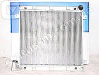 Радиатор вод. охлаждения Газель Бизнес дв.Cummins ISF 2.8 (алюм.,паяный) (пр-во LUZAR)