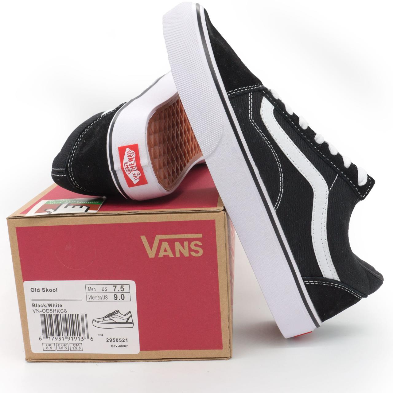 Vans Classic old skool ванс олд скул черно-белые Топ качество! р.(36 ... 01ae71b8478