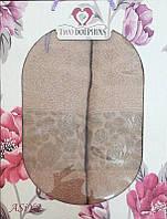 Набор махровых полотенец Asiya begie