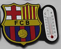 Магнит-термометр на холодильник с символикой FC Barcelona