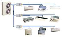 Мультизональные системы кондиционирования VRF, VRV. Внедрение и обслуживание.