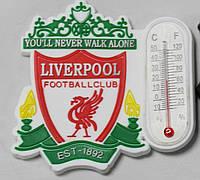 Магнит-термометр на холодильник с символикой FC Liverpool