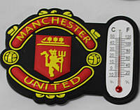 Магнит-термометр на холодильник с символикой FC Manchester