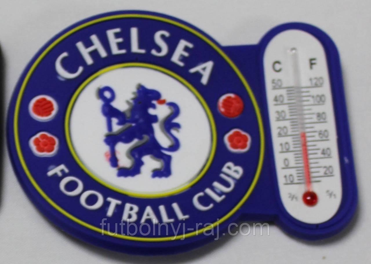 Магніт-термометр на холодильник з символікою FC Chelsea