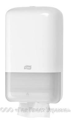 Tork Диспенсер для листовой туалетной бумаги Белый