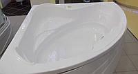 Ванна угловая без гидромассажа 1540*1540*690 мм (рама + ножки + лицевая панель)