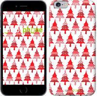 """Чехол на iPhone 6 Christmas trees """"3856c-45-716"""""""