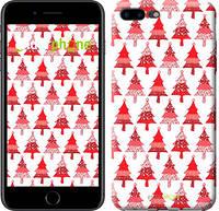 """Чехол на iPhone 7 Plus Christmas trees """"3856c-337-716"""""""