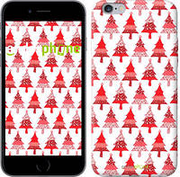 "Чехол на iPhone 6s Plus Christmas trees ""3856c-91-716"""