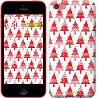 "Чехол на iPhone 5c Christmas trees ""3856c-23-716"""