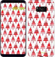 "Чехол на Samsung Galaxy S8 Plus Christmas trees ""3856c-817-716"""