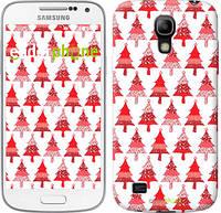 "Чехол на Samsung Galaxy S4 mini Duos GT i9192 Christmas trees ""3856c-63-716"""