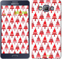 "Чехол на Samsung Galaxy A7 A700H Christmas trees ""3856c-117-716"""
