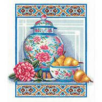Набор для вышивки крестом Panna Н-0992 Китайский фарфор