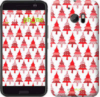 "Чехол на HTC 10 Christmas trees ""3856c-464-716"""