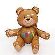 Повітряна кулька Ведмедик Тедді Куля конструктор. 3D 59×72×38 див., фото 2