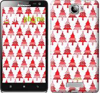 "Чехол на Lenovo S856 Christmas trees ""3856u-235-716"""