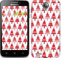 "Чехол на Lenovo S650 Christmas trees ""3856u-195-716"""