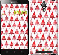 "Чехол на Lenovo P90 Christmas trees ""3856u-234-716"""