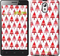 "Чехол на Lenovo Vibe P1m Christmas trees ""3856c-154-716"""