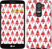 "Чехол на LG G2 mini D618 Christmas trees ""3856u-304-716"""