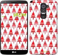 """Чехол на LG G2 Christmas trees """"3856u-37-716"""""""