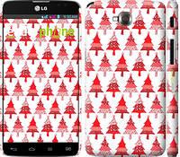 "Чехол на LG G Pro Lite Dual D686 Christmas trees ""3856c-440-716"""
