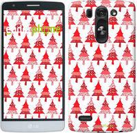 """Чехол на LG G4 Stylus H540 Christmas trees """"3856u-242-716"""""""